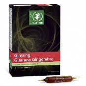 Ginseng Guarana Gingembre - 20 ampoules