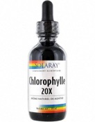 Chlorophylle liquide 20x - 59ml - Solaray