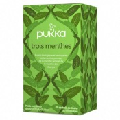Infusion 3 Menthes Bio - 20 sachets - Pukka