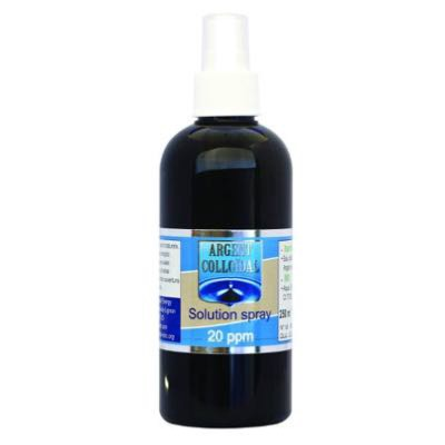 Argent Colloïdal 20ppm - Solution en Spray - 250ml