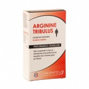 Arginine Tribulus - Performances sexuelles - 60 Gélules - Labophyto
