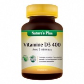 Vitamine D3 400 - Action prolongée - 90 gélules