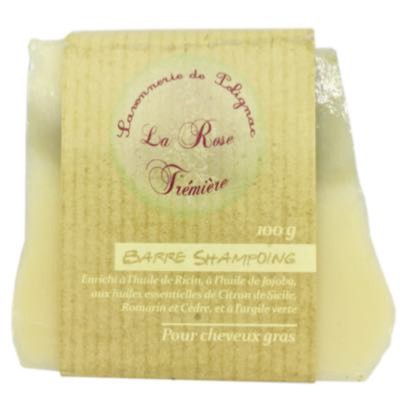 Barre Shampoing Cheveux gras - 100g